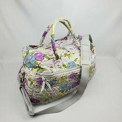 Vera Bradley Weekend Beach Bag Retired Watercolor Overnight Travel Tote Carry On