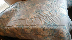 Vintage Grace/addison F/q Comforter-dry Cleaned-faded Farmhouse