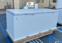 New 77 Solid Top Lock Chest Freezer Storage Cabinet Nsf Etl Commercial Xf-750