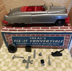 Ideal's Fix-it Convertible Car, With Box, Tools, Tire And More Look