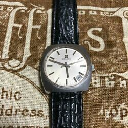 Zenith Cal.2572 1970s Antique Mechanical Menand039s Analog Watch Swiss Made