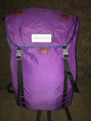 Vintage Rare Chouinard Backpack Pre Purple Great Condition