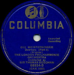 The London Philharmonic Orchestra Die Meistersinger Overture Parts 1 And 2