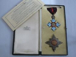 Knight Commander Of The Order Of The British Empire K.b.e. Wwi Knighthood.