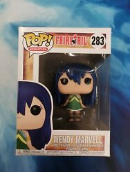 Funko Pop Wendy Marvell 283 Fairy Tail Rare Animation Anime Rare Boxed Good