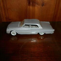1961 Ford Galaxie 2 Door Hardtop Promo Model Car - Silver Gray