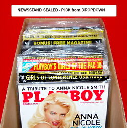 Playboy Back Issues | Original Factory Sealed | Multi-listing Pick | 1999 - 2016