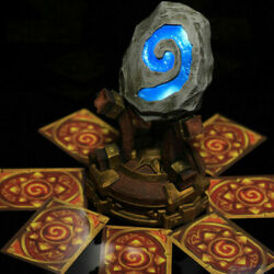 World Of Warcraft Hearthstone Scuplture Statue 11 Model 18cm New Hot Toy Stock
