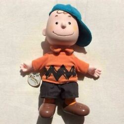 Knottand039s Berry Farm Charlie Brown Vintage Doll Snoopy 1990s Figure Japan Shipped