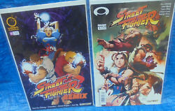 Image Comics Street Fighter 3 And Udon Comics Street Fighter Remix 0 Lot Ken Ryu