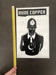 Apologies To Banksy Limited Edition Rude Copper New