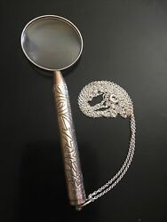 Tiffanyandco Sterling Silver Magnifying Glass