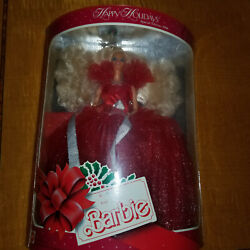 1988 Happy Holidays Barbie Mattel Mint Collector Doll Sealed In Original Plastic