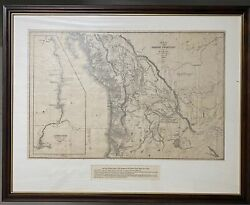 Map Of The Oregon Territory By The U.s Ex Ex Charles Wilkes Esqr Commander 1841