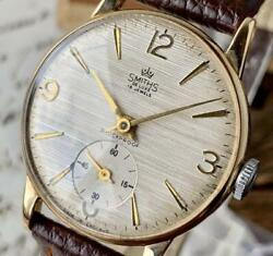 Smiths Deluxe Made In England Manufactured In 1960s Menand039s Analog Watch