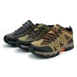 Fashion Mens Hiking Breathable Climbing Shoes Outdoor Trail Trekking Sneakers Sz