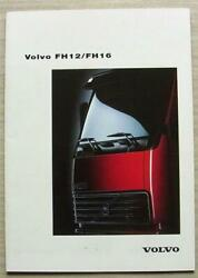 Volvo Fh12/fh16 Trucks Commercial Vehicles Sales Brochure Aug 1993 40010185
