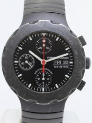 Free Shipping Pre-owned Eterna Porsche Design By Eterna Chronograph Limited