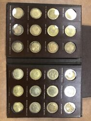 Life Of Lincoln Coin Mint 24 Coins, 1.3ounces Of Sterling Silver 24k-egp