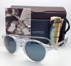 Oliver Peoples Sunglasses Gregory Peck Ov5217-s Clear W/blue Photochromic Lenses