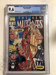 New Mutants 98 Cgc 9.6 White Pages