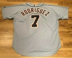 Ivan Rodriguez Detroit Tigers Vintage Russell Authentic Baseball Jersey 52