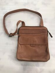Fossil crossbody bag leather excellent condition $39.99