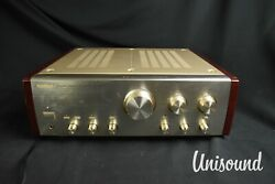 Sansui Au-andalpha607 Mos Limited Integrated Amplifier In Very Good Condition.