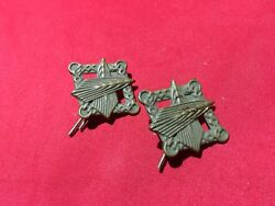 Dutch Netherlands Or French Uniform Collar Patches Medal Order Pin Pinback Wwii