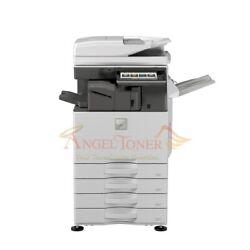 Sharp Mx-3070n Color Printer Scan Copier Network 4-tray Mfp 30ppm Laser A3 3570n