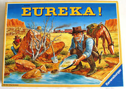 Eureka Board Game Ravensburger American Old West Gold Rush Trains Unpunched New