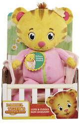 Daniel Tiger's Neighborhood Cute And Cuddly Baby Margaret Plush Pink New