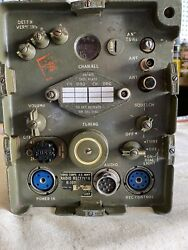 Deten Verners Military Radio Model R-109/grc For Jeep - Color Green - Not Tested