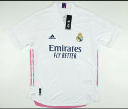 Adidas Real Madrid Emirates Official Team Issue Home Jersey Fm4736 Xl 130