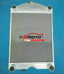 5 Row Aluminum Radiator For Ford 2n/8n/9n Tractor With Ford 305 V8 Engine