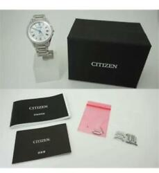 Citizen Exceed As7090-85a H110-t020011eco Drive Stainless Steel Menand039s Watch