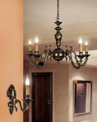 Suspended Lights Classic Brass Burnished