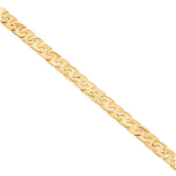 9 K Gold Large Anchor Chain - 24 Rrp Andpound2570 {b31_24_a} Uk Hallmark