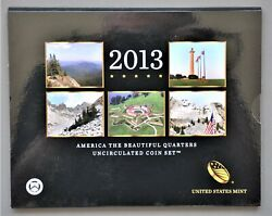 2013 - P And D - Us Mint - America The Beautiful Quarters Uncirculated Coin Set