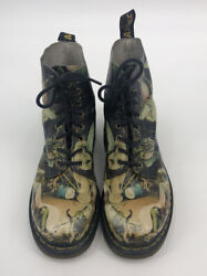 Dr. Martens Pascal Hell Museum Collection Ultra Rare Bosch Boots Size W 10 M 9