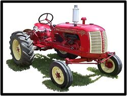 Cockshutt Tractors Model 20 Collectible Metal Sign Large Size 12 X 16