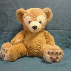 Disney Resort Duffy White Tag Beads Blue Letters Plush Toy Shipped From Japan