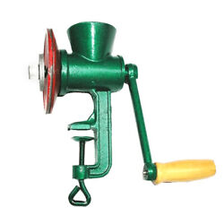 Home Cast Iron Corn Mill Grinder Manual Hand Crank Grains Oats Coffee Nuts