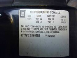 Console Front Floor Fits 00-05 Monte Carlo 3441077