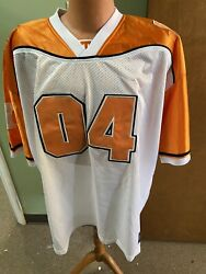 Tennessee Vols Ncaa 04 Top Of The World Men's White Football Jersey Size 2xl