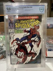 Amazing Spiderman 361 Cbcs 9.8 Newsstand White Pages