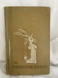 Rare The Velveteen Rabbit Margery Williams Vintage Early 'cl' Edition Hardcover