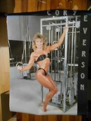 Cory Everson Muscle Female Bodybuilding Fitness Original Poster 1985 1