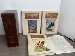 Edgar Rice Burroughs Library Of Illustration Complete 3 Volumes Centennial 1329