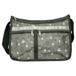 My Neighbor Totoro Lesportsac Gray Deluxe Everyday Bag Classic Shoulder M 874